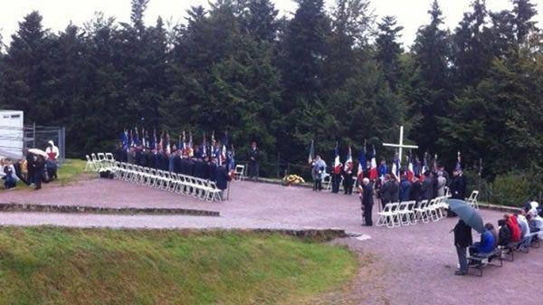 Hommage aux 141 résistants assassinés au Struthof le 1er septembre 1944