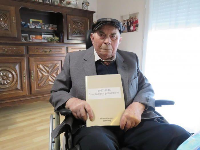 Les souvenirs de guerre de Jean Baty sont racontés dans un document destiné à la famille. (Hebdo de Sèvre et Maine)