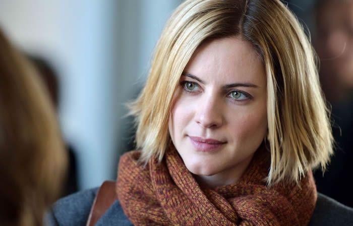 Photo: Erik Aavatsmark L'actrice suédoise Malin Crépin joue le rôle-titre de Annika Bengtzon: reporter judiciaire.