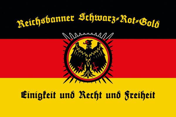 Reichsbanner Schwarz-Rot-Gold