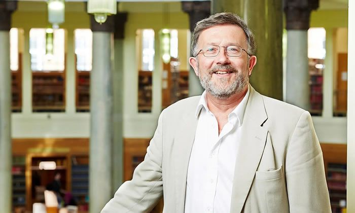 Malcolm Chase in the Brotherton library at the University of Leeds in 2014. Photograph: University of Leeds