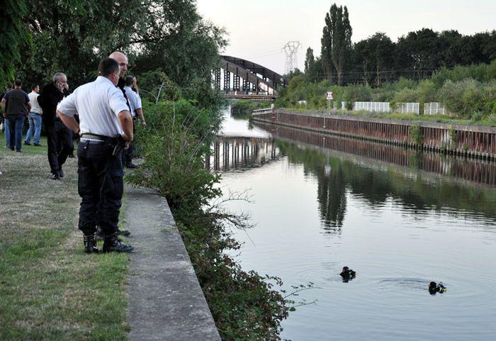 Des policiers près du Canal du Midi (illustration) Crédit : PAUL PLANTIN / AFP