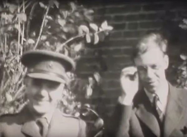The footage was filmed at different times between 1939 and 1945. Photograph: Bletchley Park/YouTube