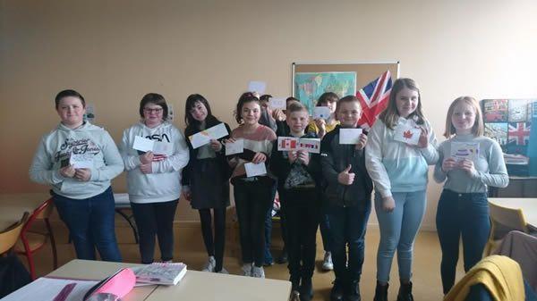 Les élèves ont participé à cette folle expérience. (©La Presse de la Manche)
