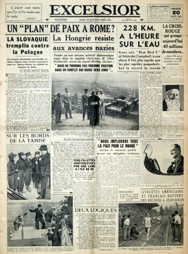 Seconde Guerre octobre 1939