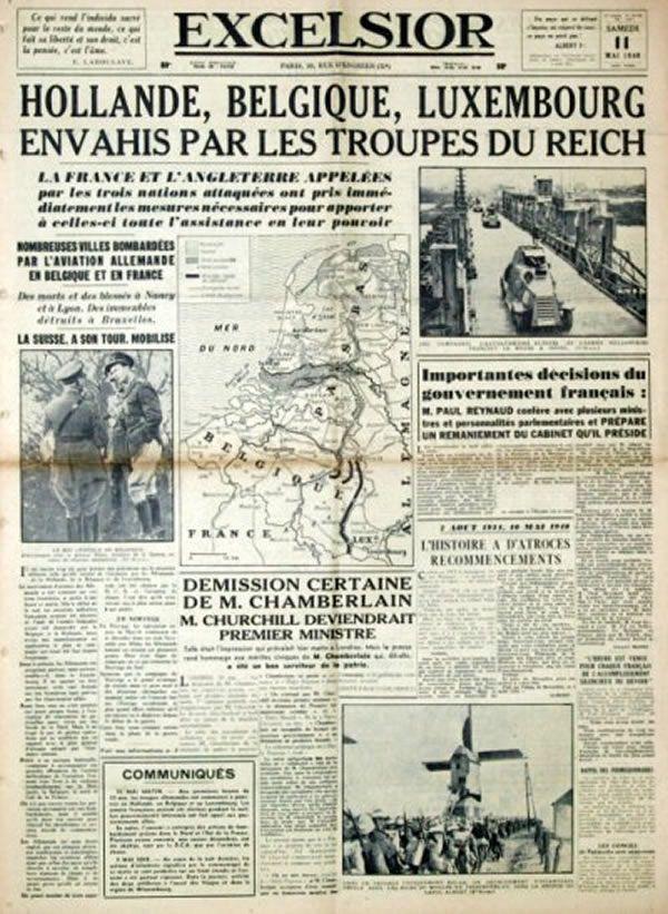 Seconde Guerre janvier 1940