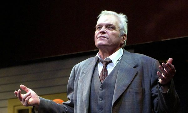 Brian Dennehy as Willy Loman in Death of a Salesman at the Lyric theatre, London, in 2005, for which he won an Olivier award. Photograph: Ray Tang/Rex/Shutterstock