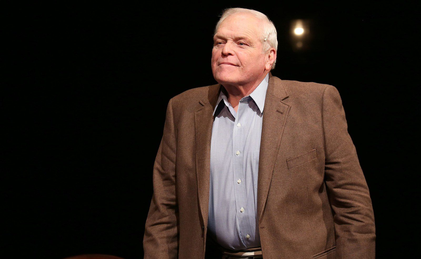 Brian Dennehy during the Broadway opening night performance of 'Love Letters' at the Brooks Atkinson Theatre on Sept. 18, 2014 in New York City.Walter McBride / WireImage file