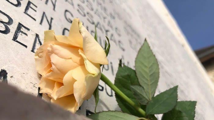 Izieu: un témoignage inédit pour une commémoration online ce dernier dimanche d'avril 2020, journée d'hommage aux victimes de la déportation. / V.Diguat