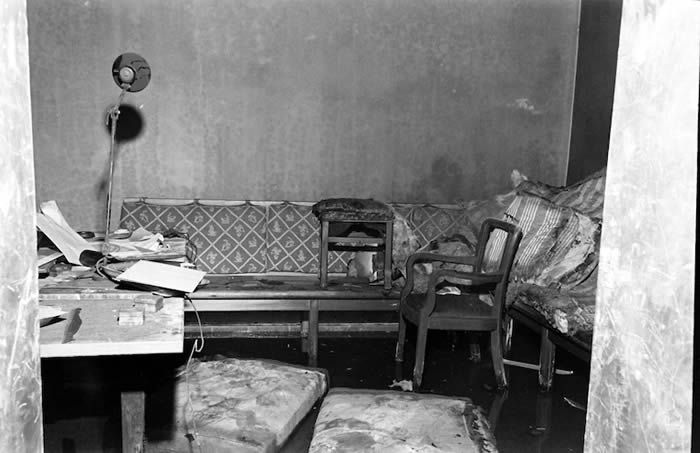 Hitler's command bunker in Berlin in July 1945. He and his wife killed themselves there April 30. (William Vandivert/Life Picture Collection/Getty Images)