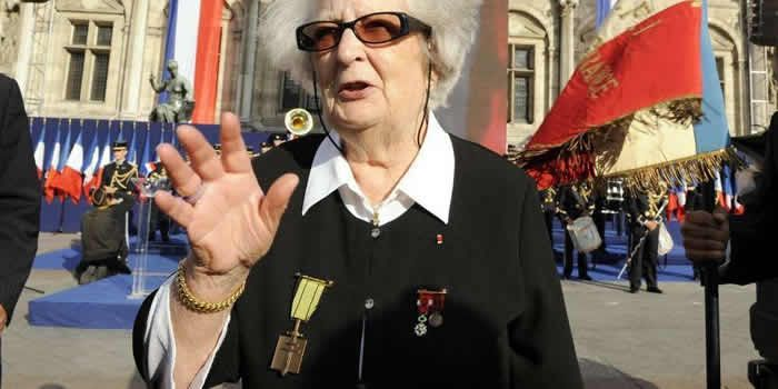 Cécile Rol-Tanguy diced with death during missions for the Résistance in Nazi occupied Paris. Bertrand GUAY / AFP