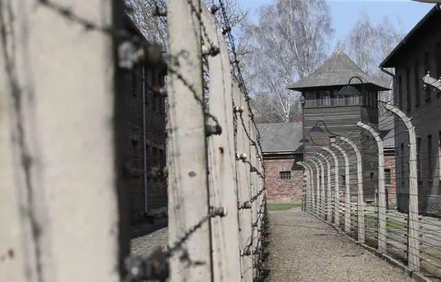 Le camp de concentration et d'extermination d'Auschwitz Birkenau, le 12 avril 2018. — Damian Klamka/ENPOL/SIPA