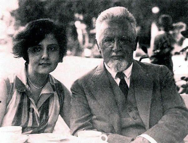 Arnold Rosé and Alma Rosé en 1928