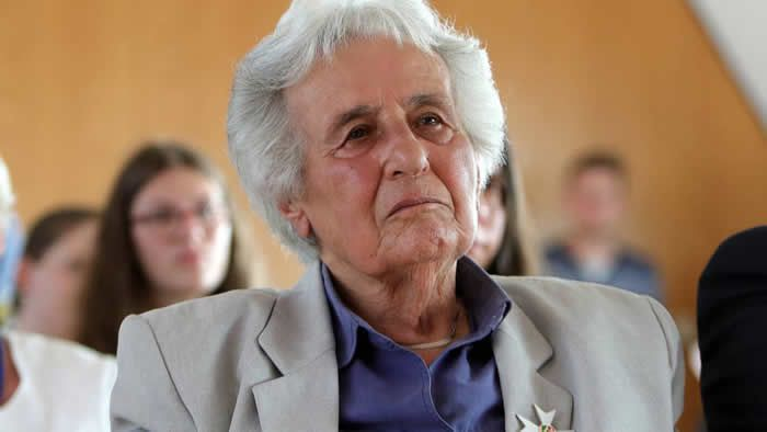 Anita Lasker-Wallfisch est l'une des dernières survivantes de l'orchestre des femmes d'Auschwitz. David Young/picture alliance via Getty Images