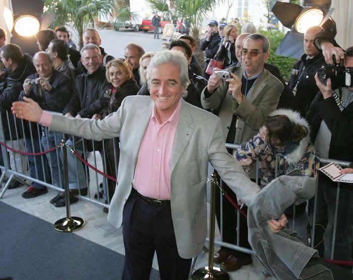 Jean-Loup Dabadie à Cognac en 2006.  Crédit photo : Henri-Jean Berthelemy