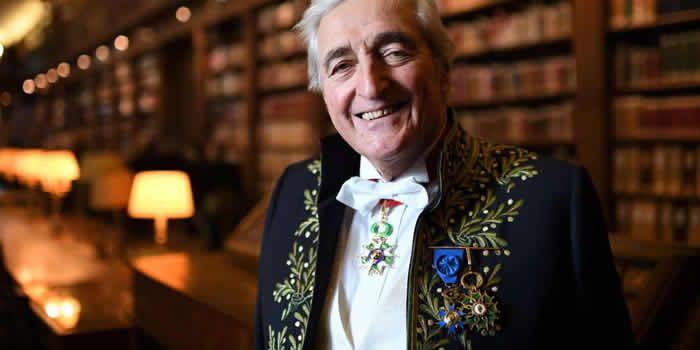 Jean-Loup Dabadie était entré à l'Académie française en 2008. Crédit photo : ERIC FEFERBERG AFP