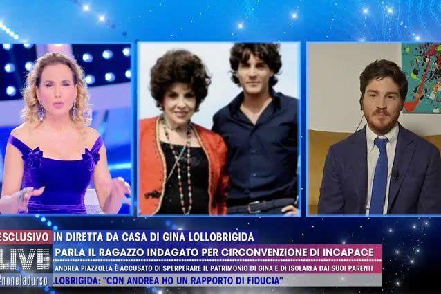 """Piazzolla, ex manager di Gina Lollobrigida: """"Non ho sfrattato io il nipote, che volete da me?"""""""