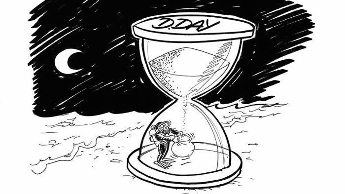 Dessin de Chaunu, extrait de D-Day Histoires mémorables du Débarquement et de la Bataille de Normandie, éd. Armand Colin, 2019 / Armand Colin