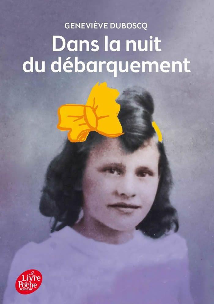 Il était de coutume après le débarquement que les petites filles portent des rubans en parachutes dans les cheveux comme des papillons.