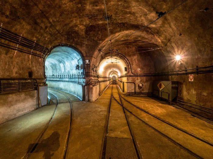 Les galeries souterraines de l'ouvrage du Michelsberg - association de l'ouvrage du Michelsberg