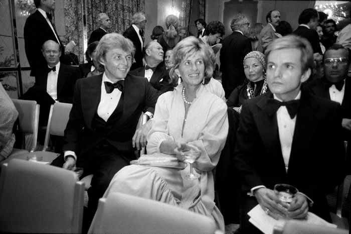 Jean Kennedy Smith with her husband, Stephen E. Smith, left, in 1976 during a benefit for the Special Olympics at the Pierre hotel in Manhattan. Years later she was named ambassador to Ireland by President Bill Clinton at the behest of her brother Edward.Credit...Larry C. Morris/The New York Times