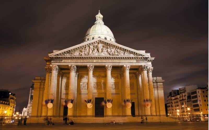 Le Panthéon à Paris.