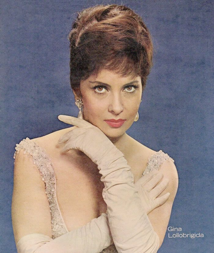 Photo of Gina Lollobrigida from the front cover of the New York Sunday News magazine in 1963. | Source: Wikimedia Commons.