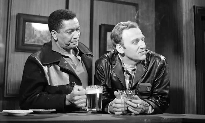 Earl Cameron and John Thaw in I Can Walk Where I Like, Can't I?' a 1963 episode from the ITV Play of the Week series. Photograph: ITV/Rex/Shutterstock