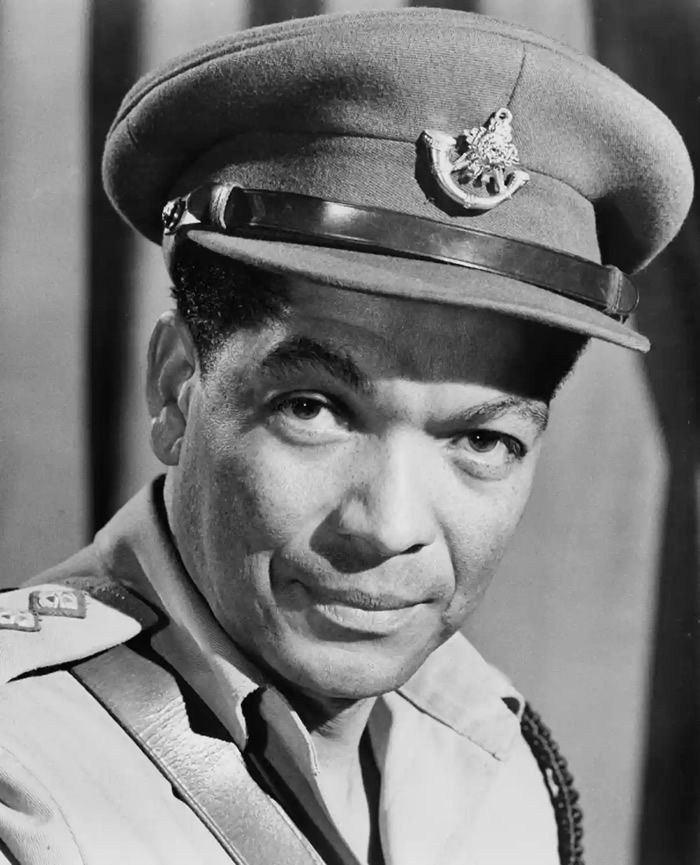Earl Cameron in Guns at Batasi, 1964. Photograph: Michael Ochs/Getty Images