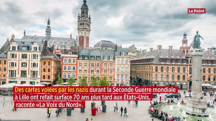 Aux États-Unis, l'incroyable découverte d'un butin de guerre volé aux Français
