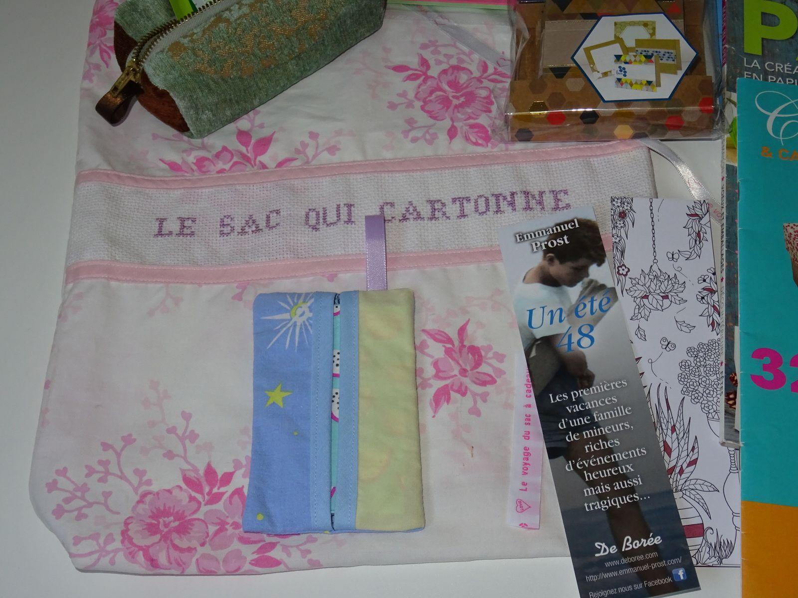 N°95 Le sac qui cartonne : 35ème voyage