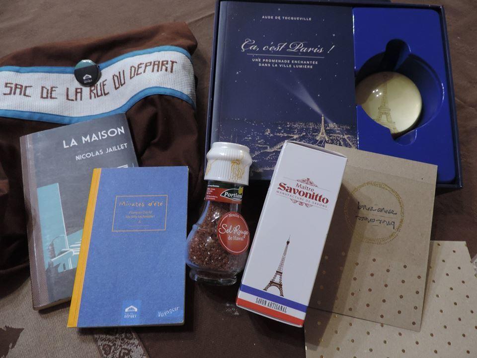 N°316 Le sac de la rue du Départ : pour Sabine PP