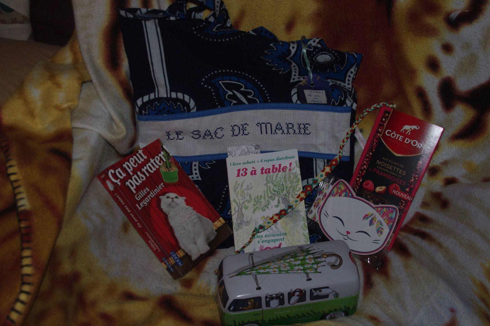 N°271 Le sac de Marie : pour Nathalie B