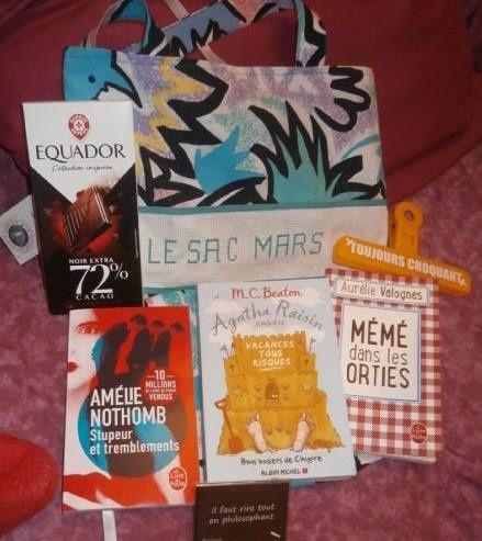 N°135 Le sac Mars : voyage 90