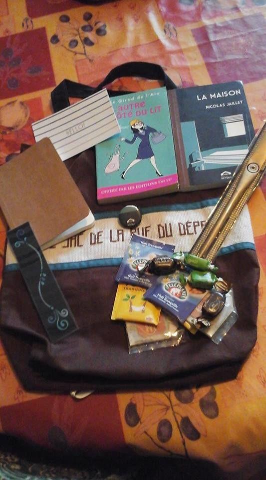 N°316 Le sac de la Rue du Départ : pour Patrice