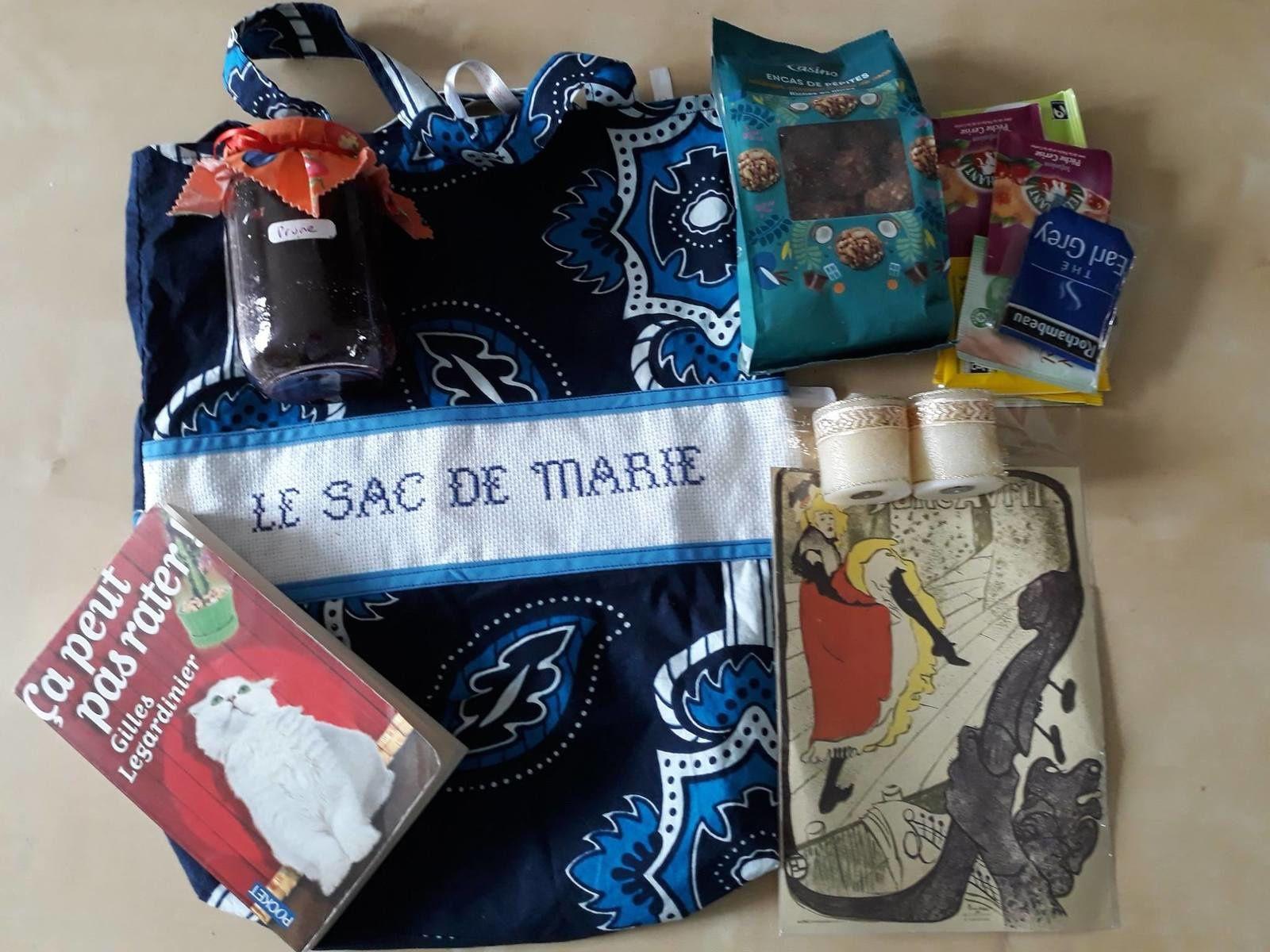 N°271 Le sac de Marie : chez l'auteure  Marie-Thérèse Continanza