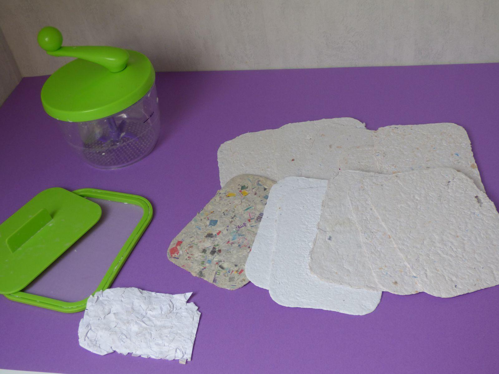 Fabriquer du papier recyclé