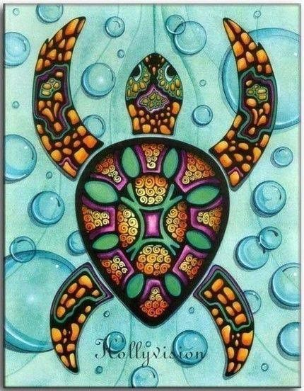 http://www.stylehive.com/bookmark/abstract-sea-turtle-aumakua-print-by-hollyvisionart-on-etsy-674907