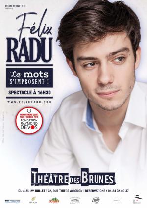 """Félix Radu - """"Les mots s'improsent"""""""