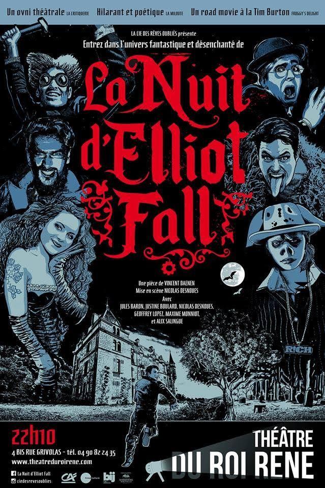 """Vincent Daenen  - """"La Nuit d'Elliot Fall"""""""