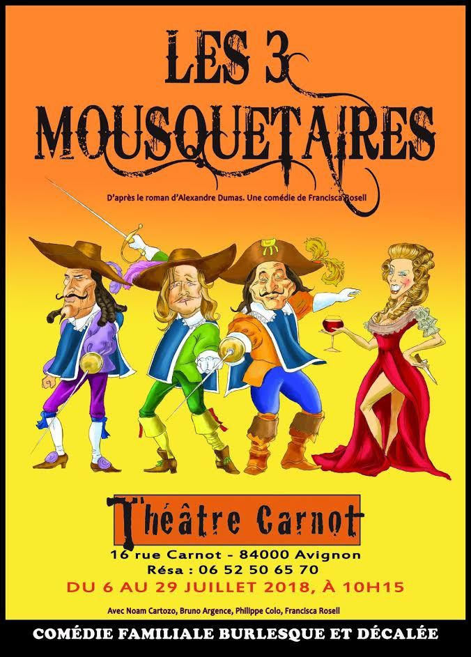 """Francisca Rosell - """"Les 3 Mousquetaires"""""""