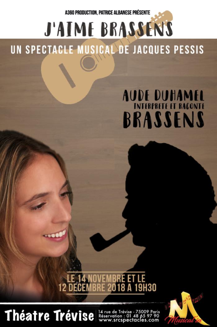 """Jacques Pessis et Aude Duhamel - """"J'aime Brassens"""""""