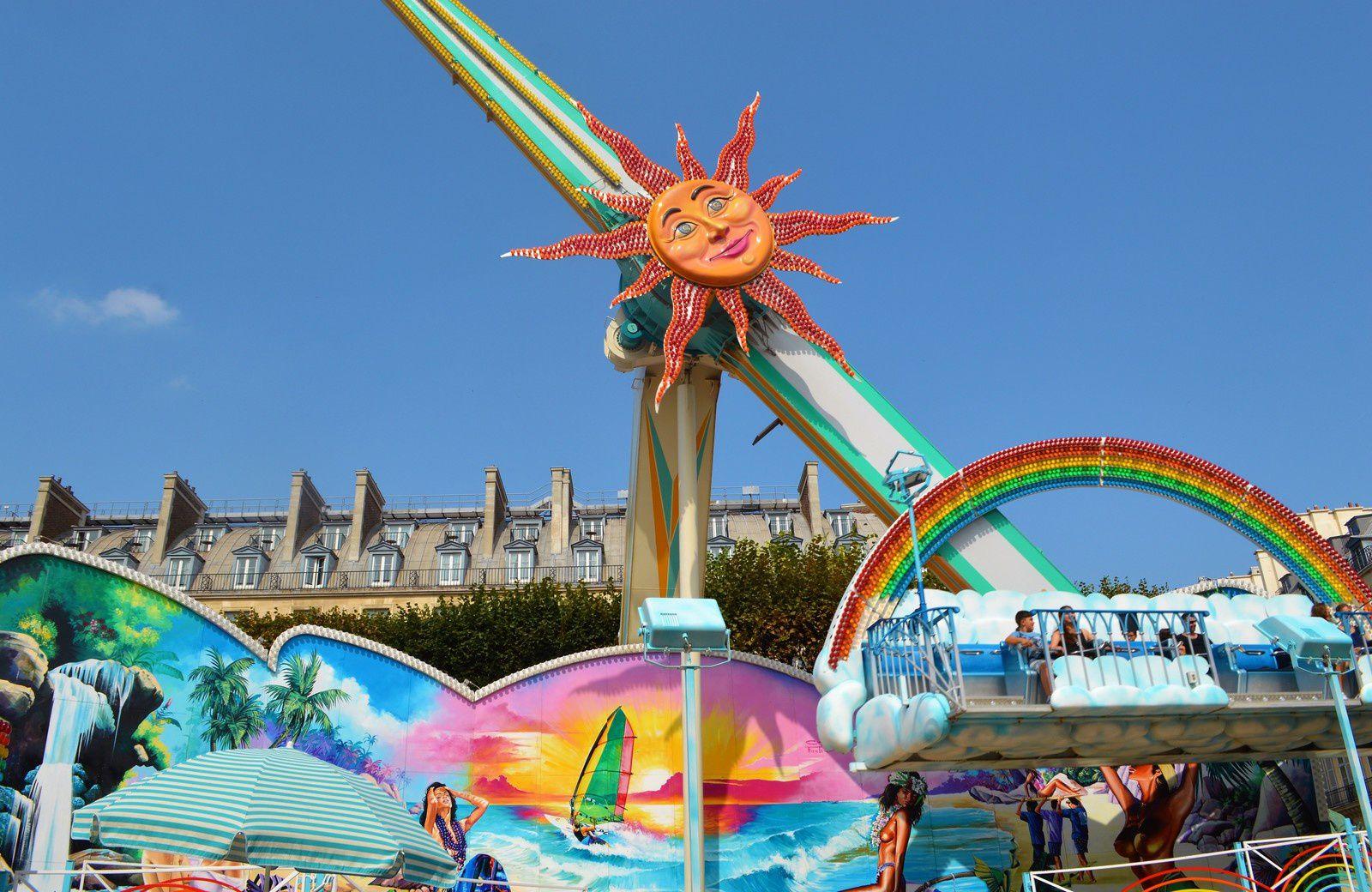 La fête foraine des Tuileries