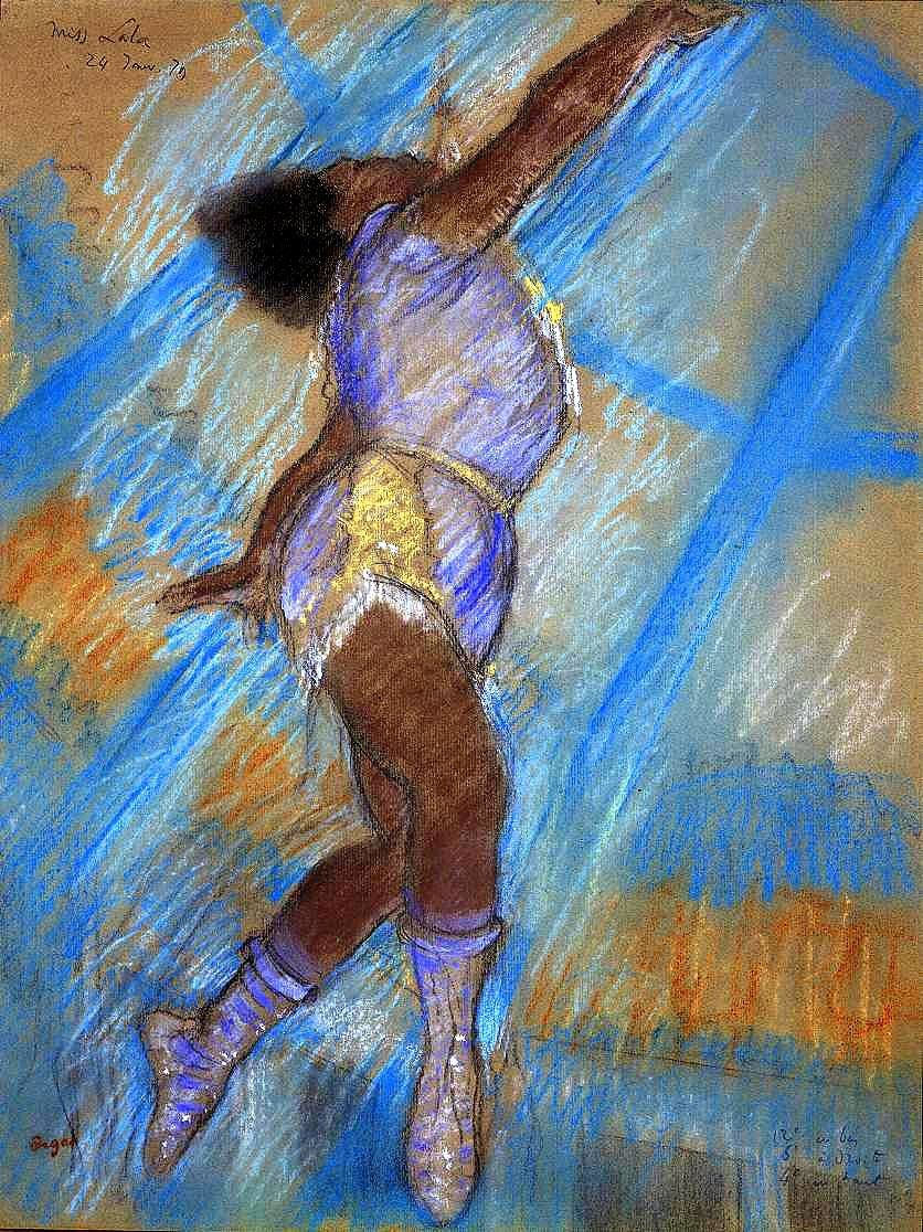 Miss Lala au Cirque Fernando (Londres, National Gallery)