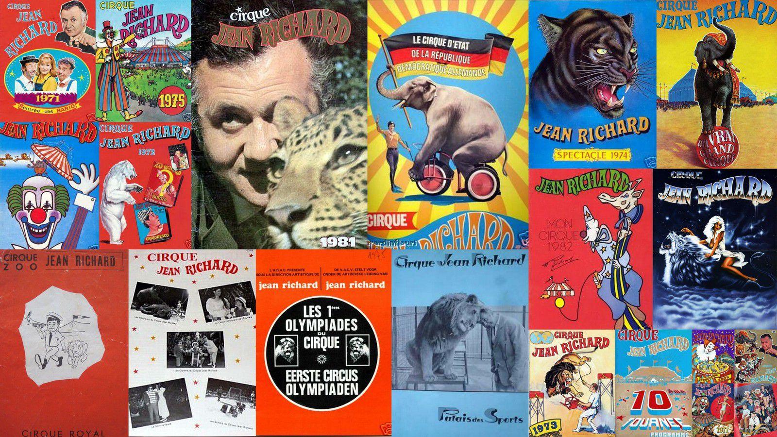 Quelques visuels du Cirque du comédien Jean Richard