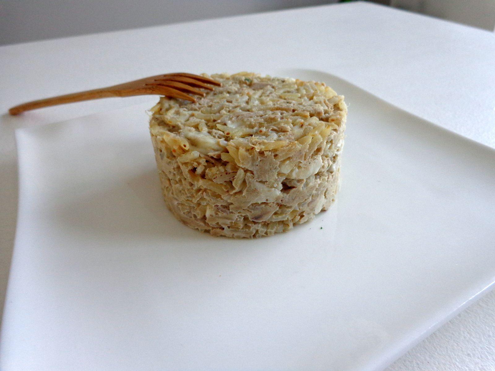 Timbale de thon à la mozzarella