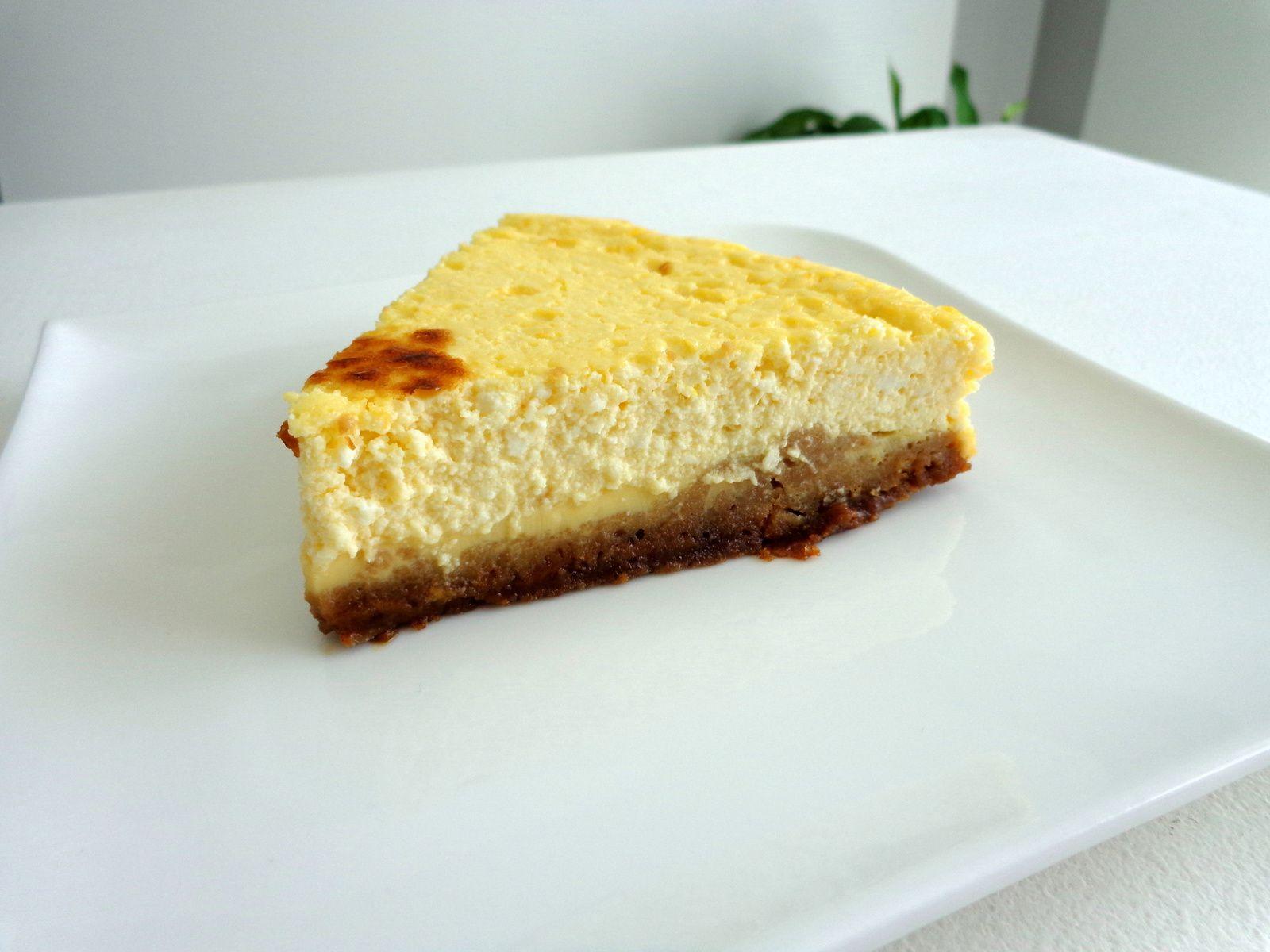 Cheesecake brocciu, spéculoos