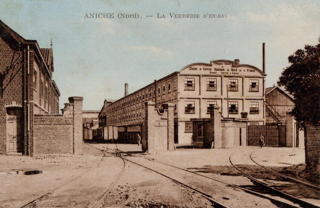 La verrerie Saint-Laurent 1854 à nos jours
