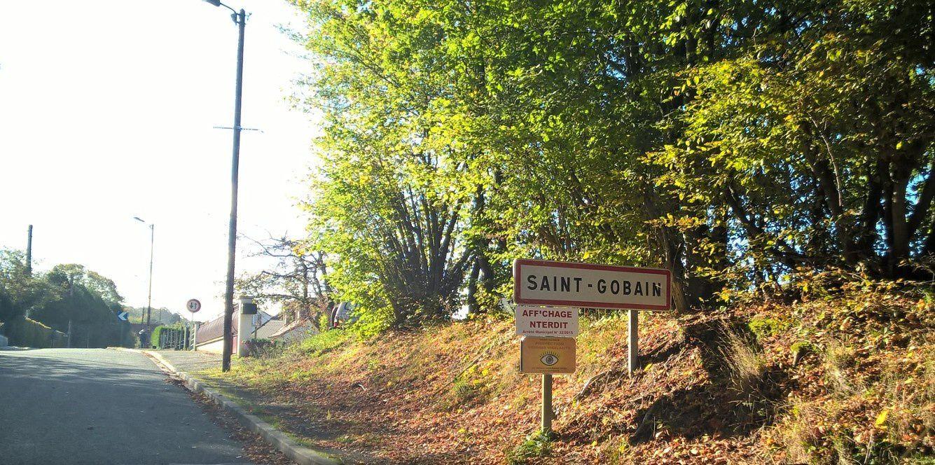 Si vous passez par Saint-Gobain......02410