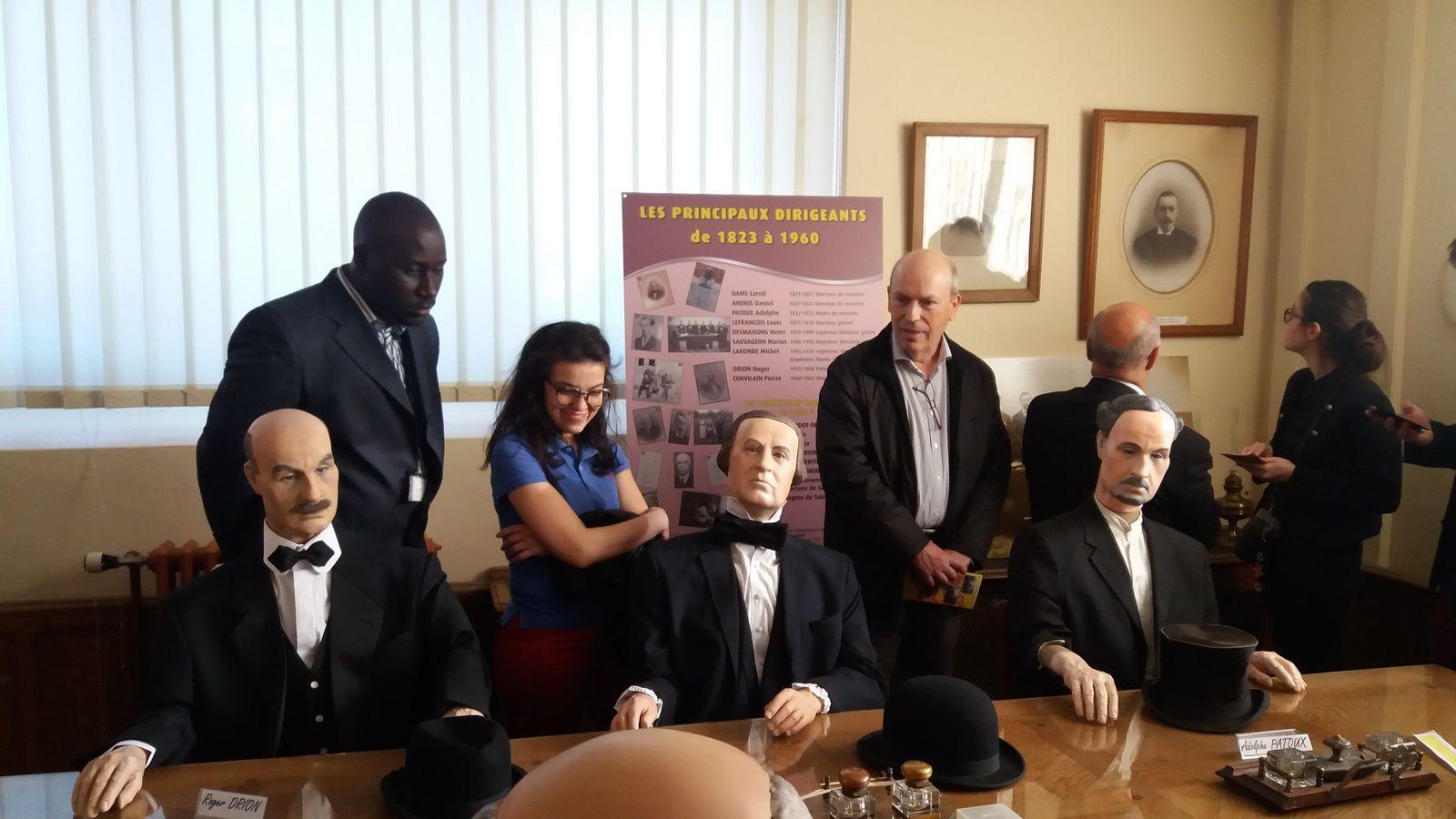 Visite assurée par Jean-Paul Lamarre et Henri Dupas
